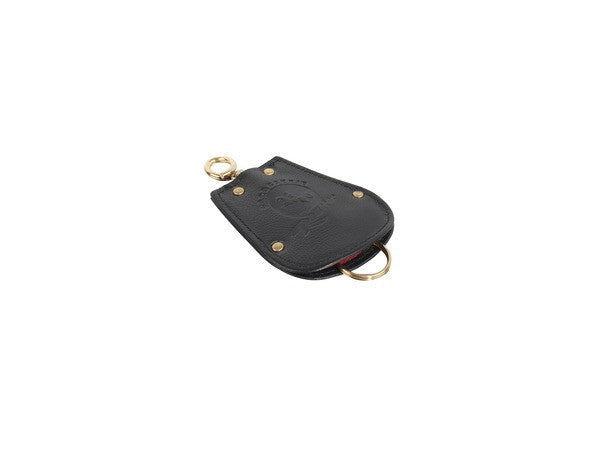(New) 356 Black Leather Key Pouch - 1950-65