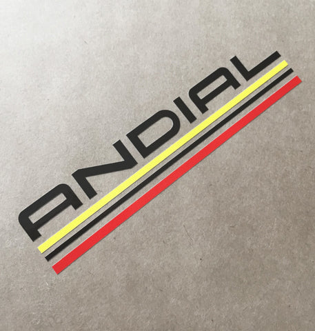 (New) Vintage 'ANDIAL' Decal