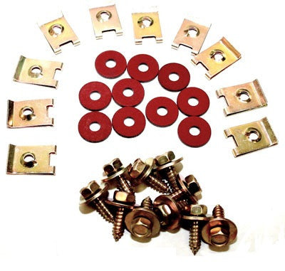 (New) 911/912/930 Zinc Fender Hardware Kit