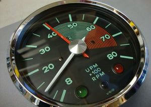 (New) 356 Spyder 550 RS Revolution Counter Chronometrical