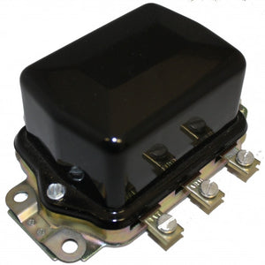 (New) 356/912 Black 12v Voltage Regulator - 1955-69