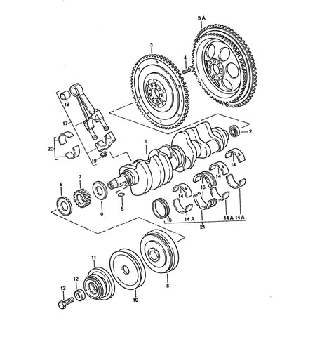 (New) 928 GTS Crankshaft - 1992-95