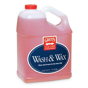 (New) 1 Gallon Wash and Wax