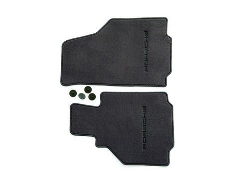(New) 986 Boxster Set of Two Metropol Blue Floor Mats - 1997-2004