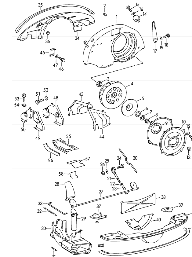 Porsche 356 Engine And Transmission Page 2