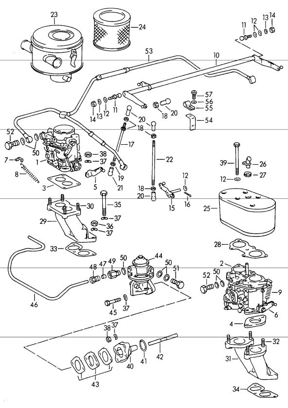 Porsche 356 Fuel And Exhaust Page 2