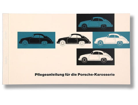 (New) 356 A/B German Body Maintenance Instruction Book - 1955-63