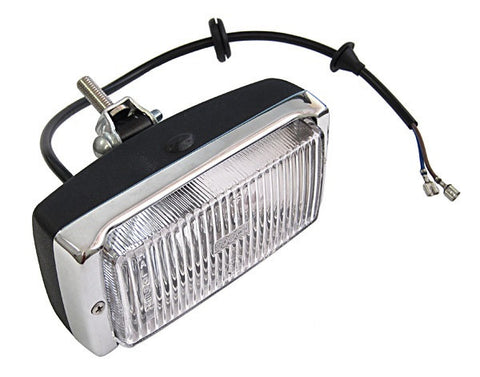 (New) 911/930 Chrome/Black Fog Light - 1974-83