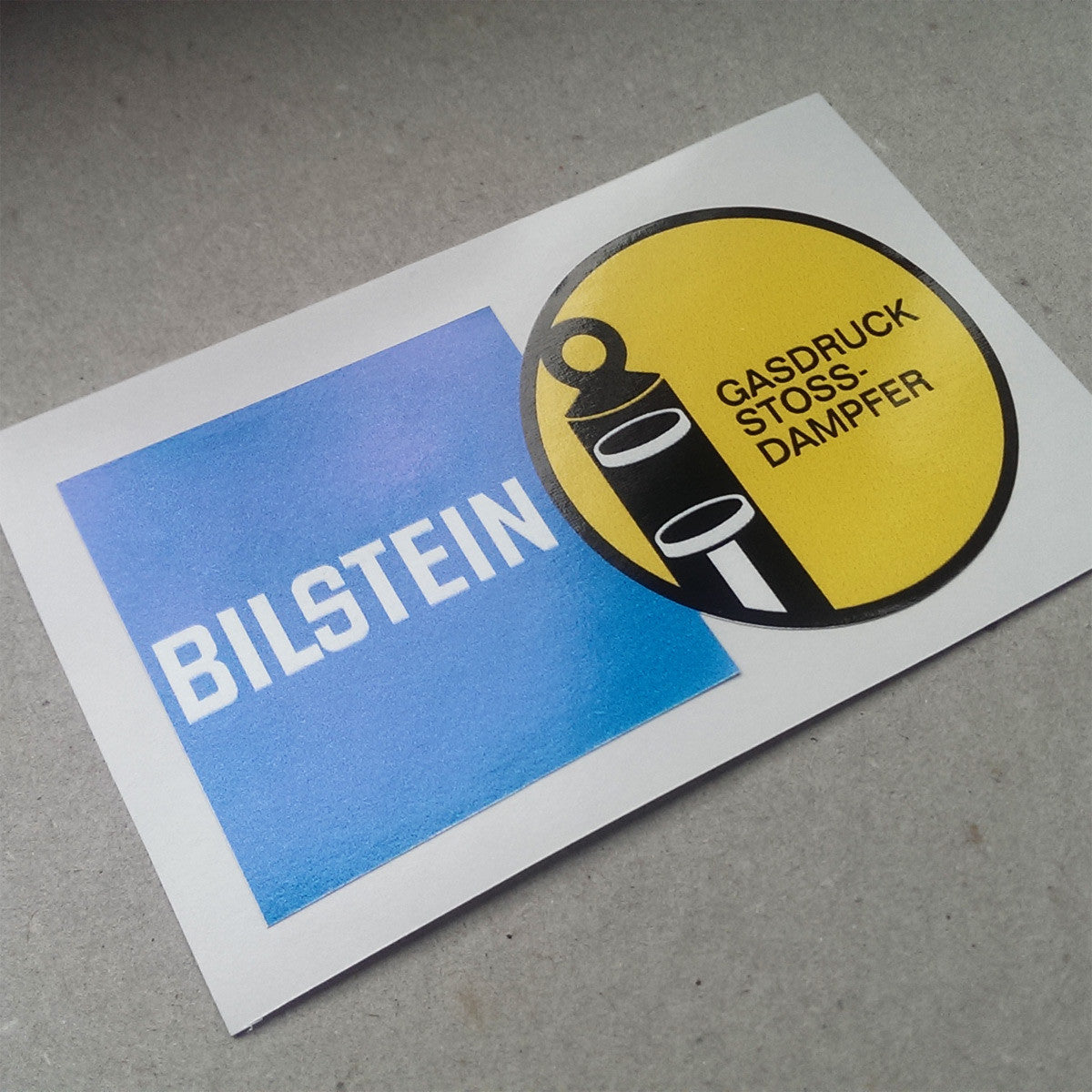 New vintage bilstein decal 2 aase sales porsche parts center