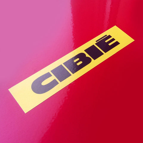 (New) Vintage 'CIBIE' Decal