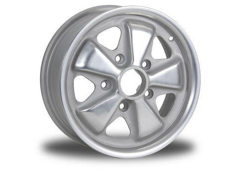 (New) 911/912/914-6 5.5jx14 Perforated Forged Aluminum Fuchs Wheel - 1965-77