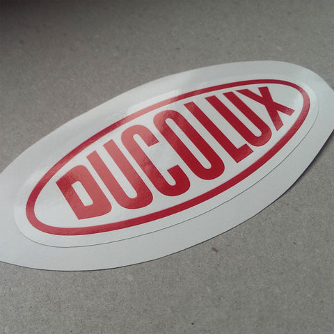 (New) Vintage 'DUCOLUX' Decal