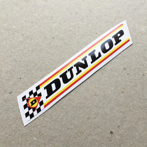 (New) Vintage 'DUNLOP' Decal