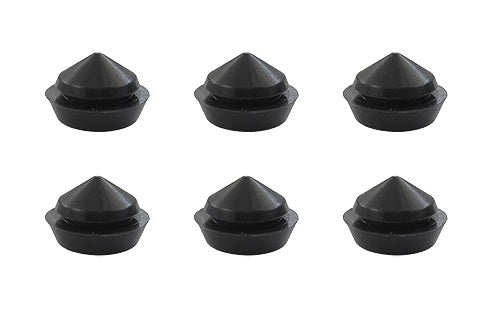 (New) 914 Pop-up Headlight Eyebrow Grommet Plug Set - 1970-76