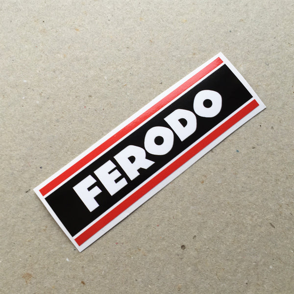 (New) Vintage 'FERODO' Decal