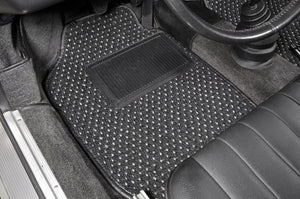 (New) #53 Black and Grey CoCo Mats - Two Piece or Four Piece