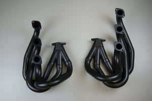 (New) 911 European Racing Headers w/ Street Adapters - 2.7-3.2L