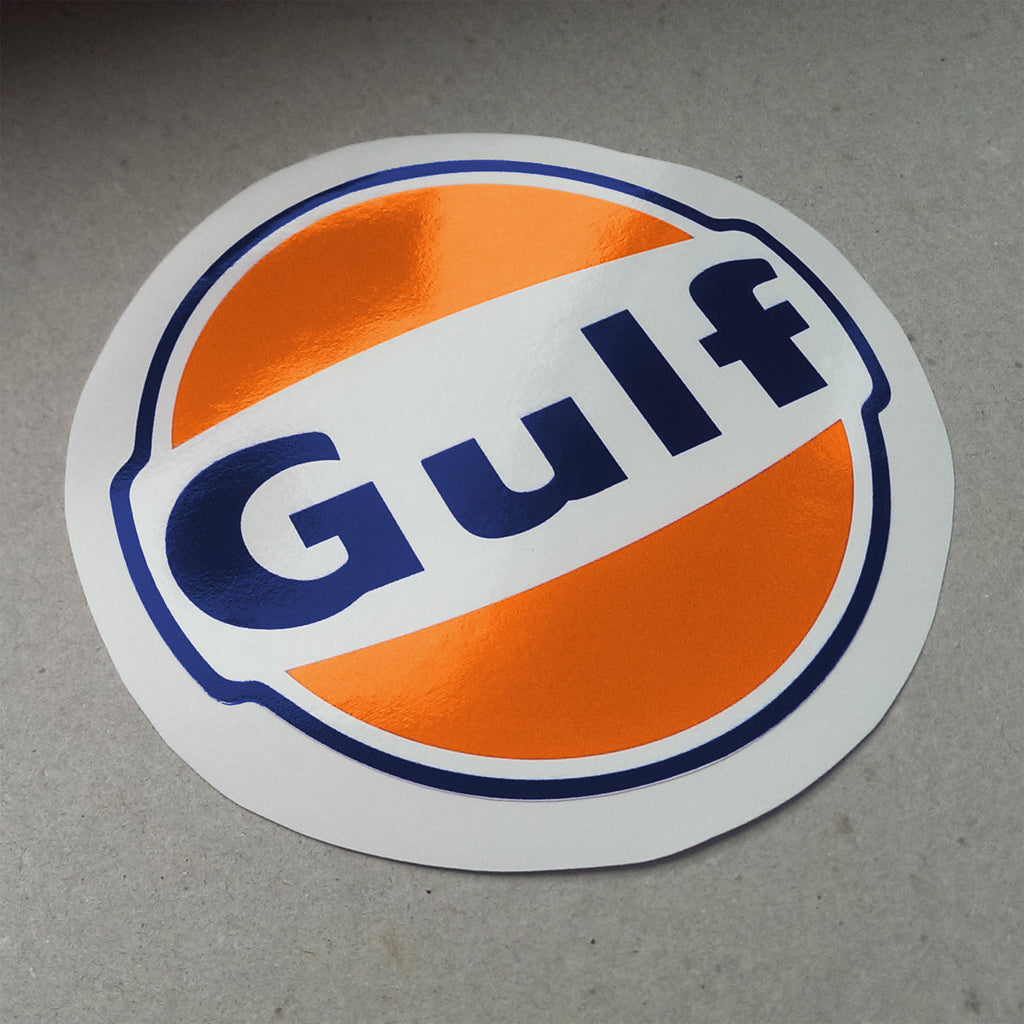 New Vintage Gulf Decal Aase Sales Porsche Parts Center