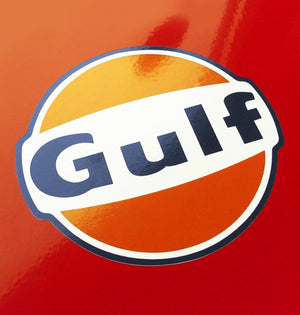 (New) Vintage 'GULF' Decal