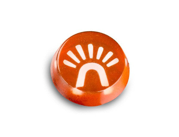 (New) 911/912 Hazard Warning Light Cap Insert w/ Symbol - 1965-70