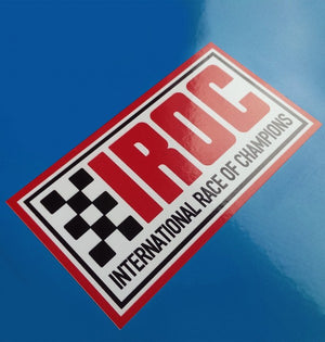 (New) Vintage 'IROC' Decal