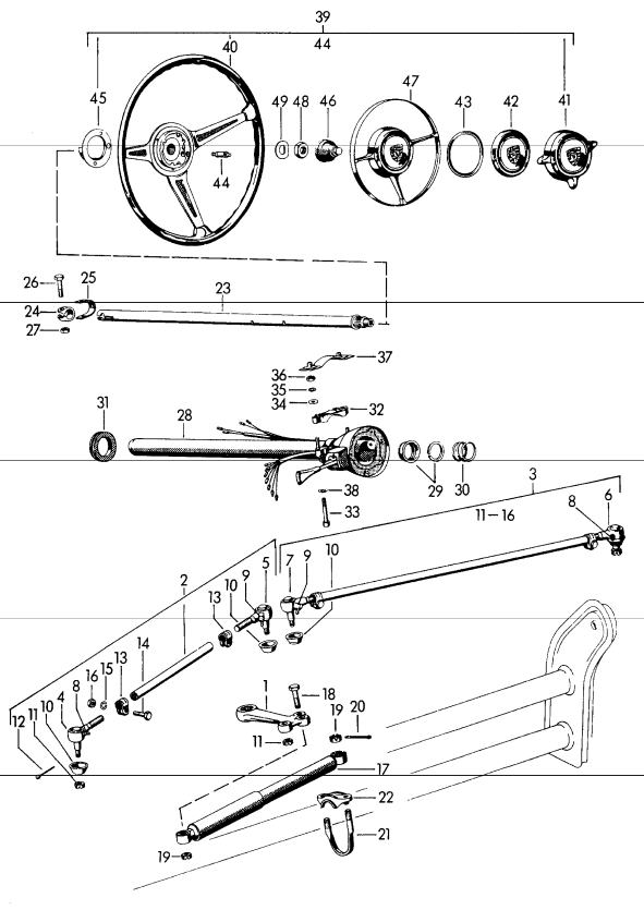 (New) 356 Steering Damper - 1950-65