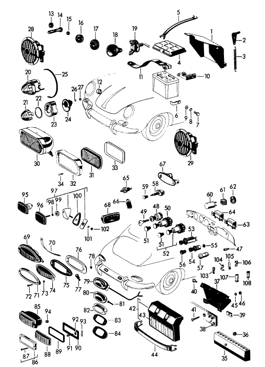 Porsche 930 Wiring Diagram