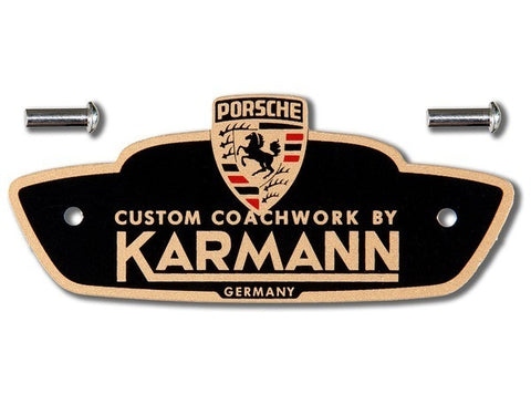 (New) 356 Pre-A/A/B/C Karmann Badge - 1950-65
