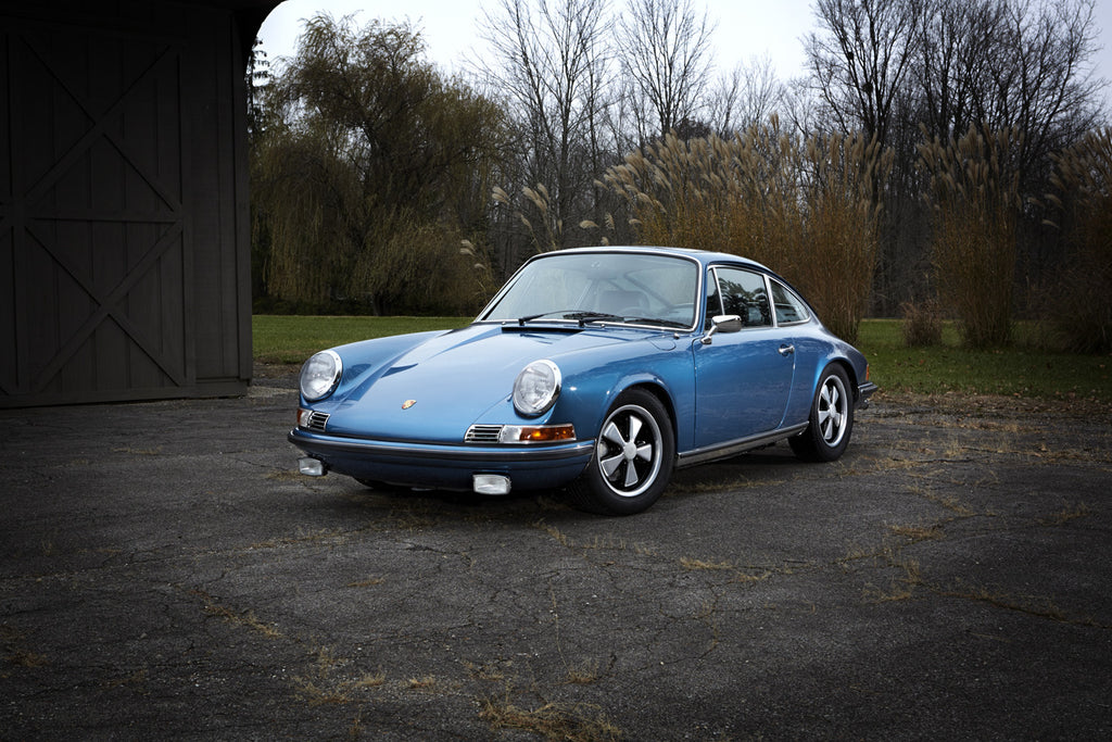 1970 911 S Coupe Metallic Blue Price To Be Determined Aase Sales Porsche Parts Center