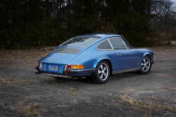 1970 911 S Coupe - Metallic Blue