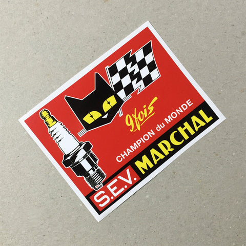 (New) Vintage 'S.E.V. MARCHAL' Decal #2