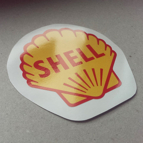 (New) Vintage 'SHELL' Decal