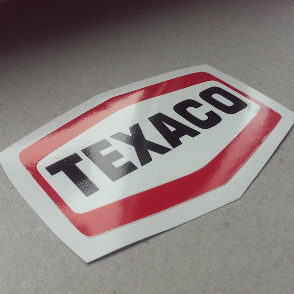 (New) Vintage 'TEXACO' Decal