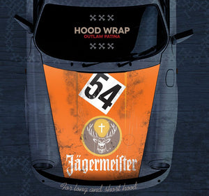 (New) 911/912/930/964 Front Hood Historic Livery Wrap - 1965-94