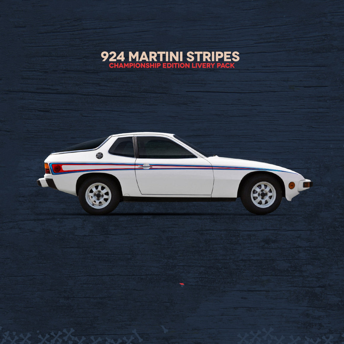(New) 924/944 M426 Martini Side Stripes Livery Kit - 1976-91