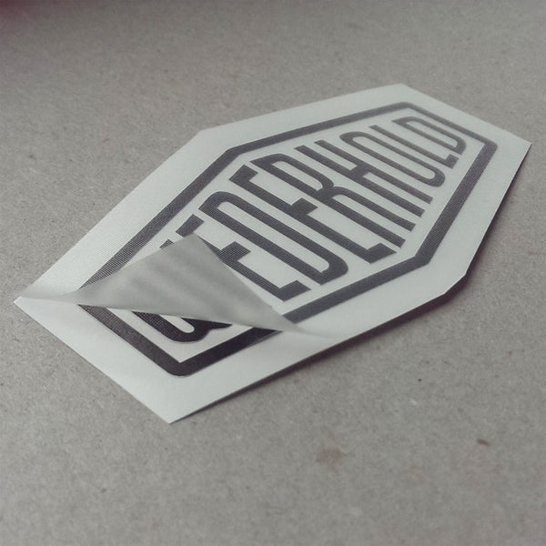 (New) Vintage 'WIEDERHOLD' Decal