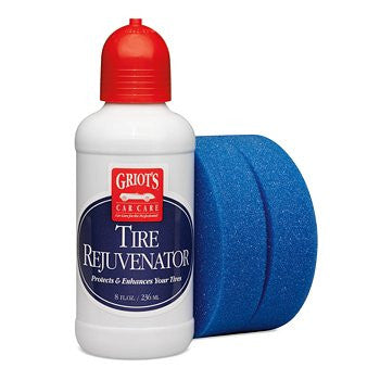(New) 8oz Tire Rejuvenator with Blue Detail Sponge