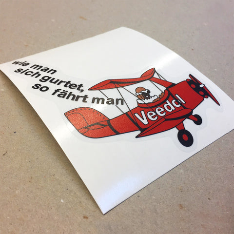 (New) Vintage Carrera RSR Veedol Decal - 1973
