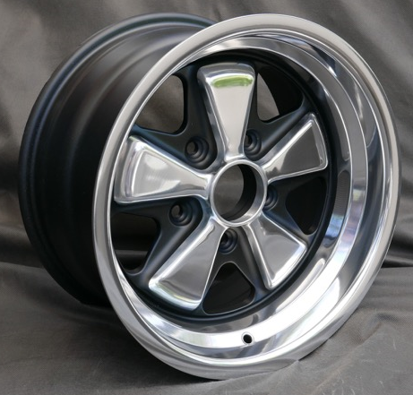 (New) Reproduction 8j x 15 Fuchs Anodized Wheel - 1974-89