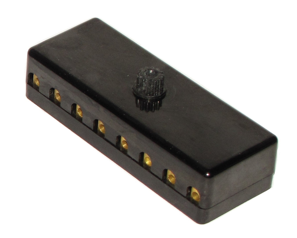 New 911 8 Pole Fuse Box With Lid 1969 73 Aase Sales Porsche