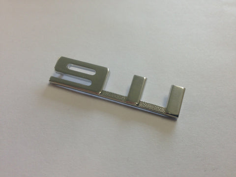 (New) Silver 911 Glove Box Emblem - 1967-68