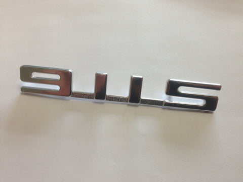 (New) 911S Rear Silver Emblem for Engine Lid - 1967-73