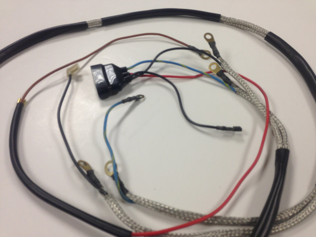 Ignition Wiring Harness For Sale Reinvent Your Diagram Porsche Trailer Nos 911 1969 73 Aase Sales Rh Aasesales Com