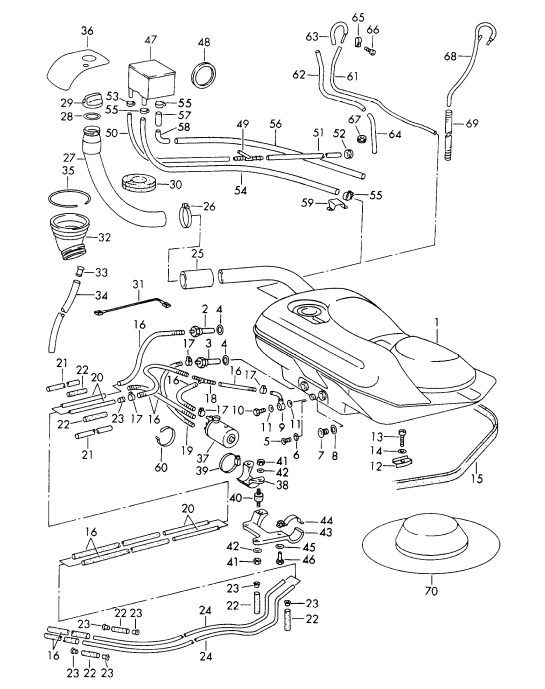 Porsche 911 912 930 Fuel And Exhaust Page 3