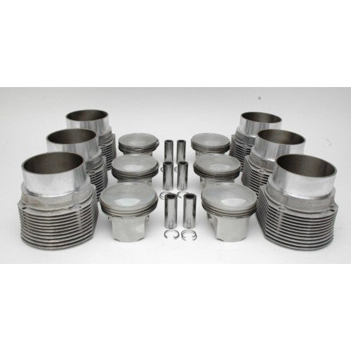 (New) 911 Carrera RS/RoW Carrera Complete Set of 6 Pistons and Cylinders - 1973-76