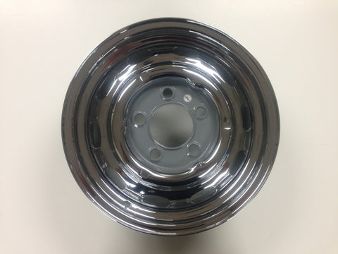 (New) 5.5j x 15 Disc Brake Chrome Wheel