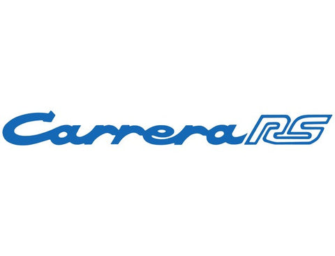 (New) 911 RS Blue Carrera RS Decklid Decal - 1972-73