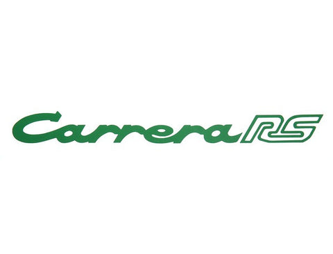 (New) 911 RS Green Carrera RS Decklid Decal