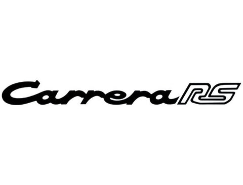 (New) 911 RS Black Carrera RS Decklid Decal - 1972-73
