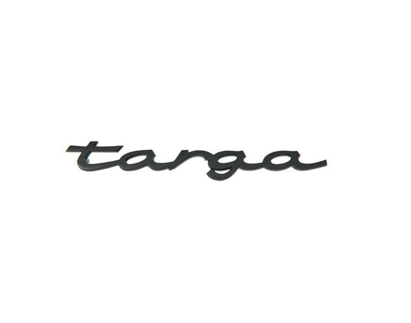 "(New) Black ""Targa"" Emblem - 1970-94"